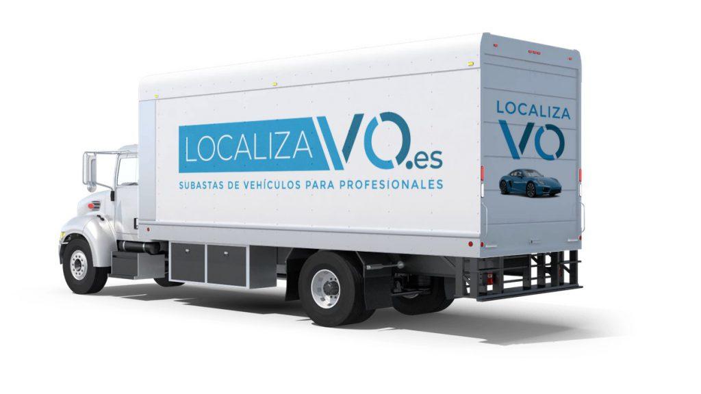Rotulación de Localiza V.O.