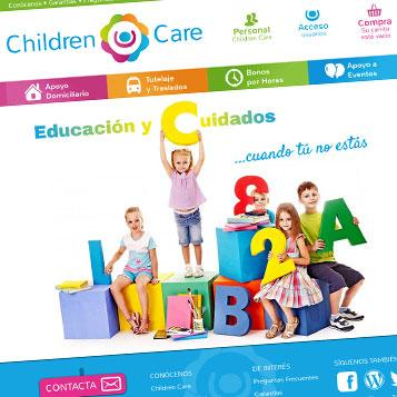 Diseño Web Children Care