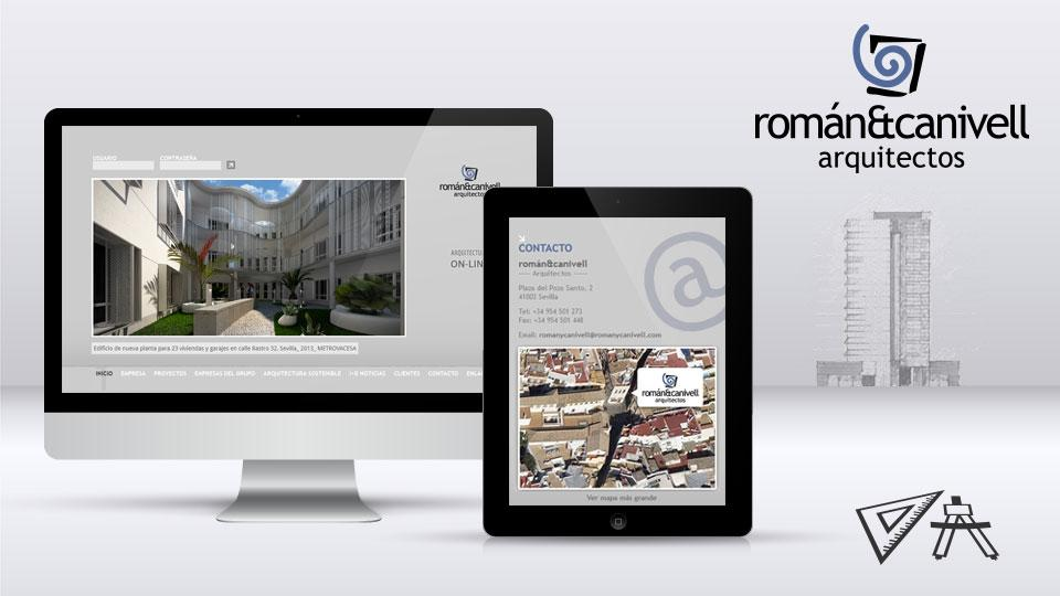 Proyecto web Romanycanivell.com